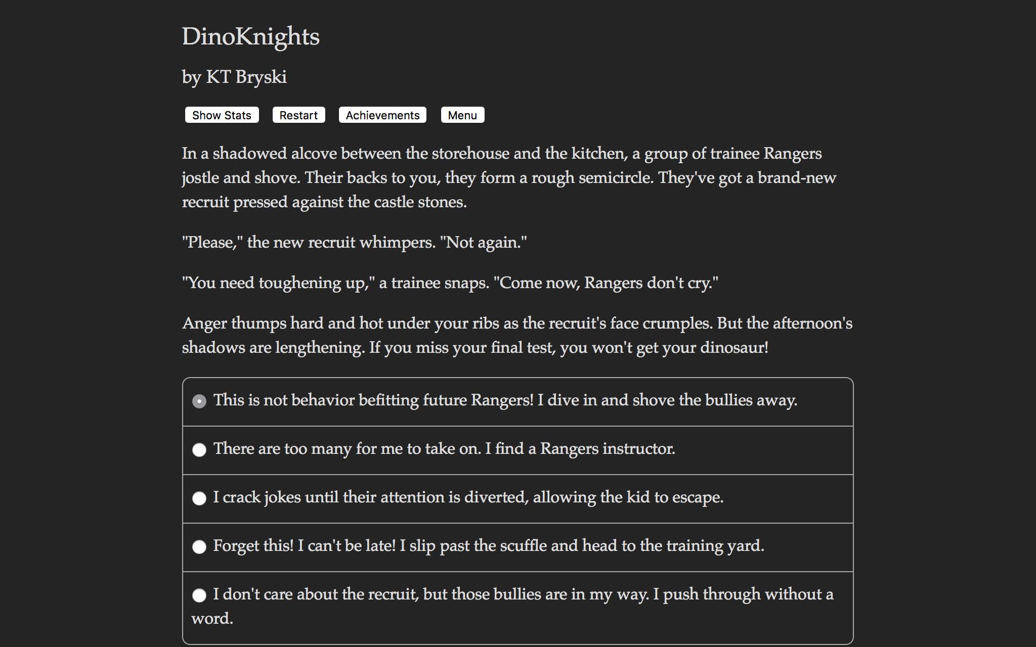 Dinoknights What S On Steam
