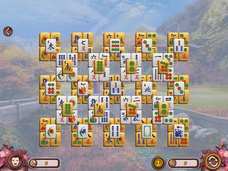 Скриншот из Sakura Day Mahjong