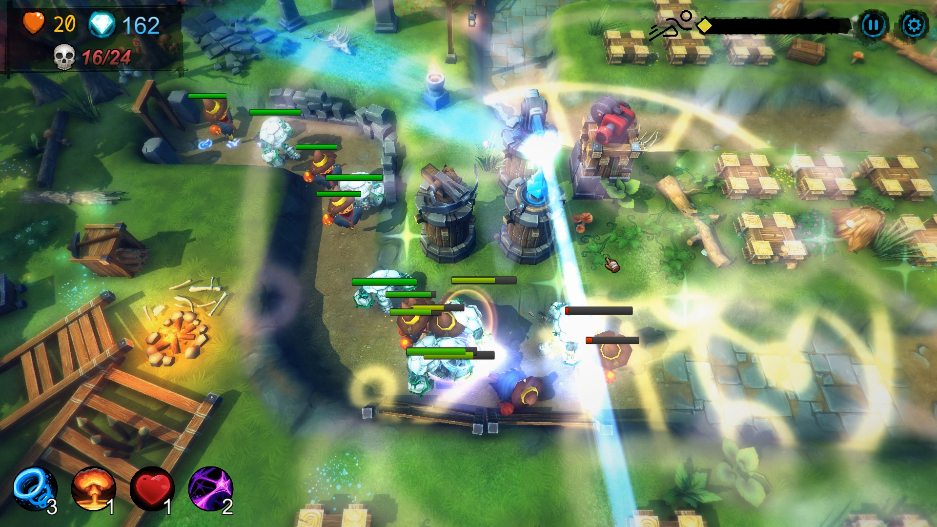 Yet another tower defence [2018|Eng|Multi3]