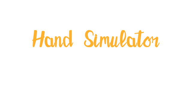 Hand Simulator: Survival - Steam Backlog