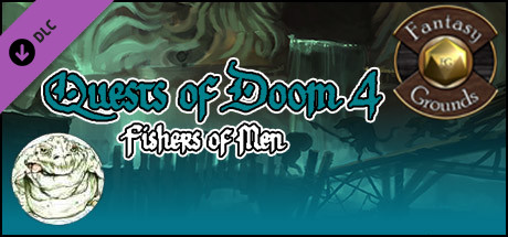 Fantasy Grounds - Quests of Doom 4: Fishers of Men (5E)