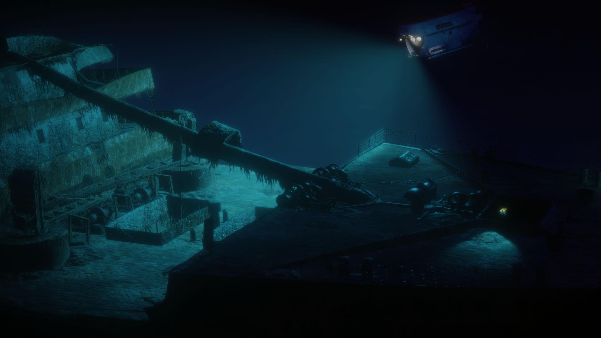 TITANIC Shipwreck Exploration [2018|Eng]