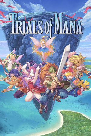 Trials of Mana poster image on Steam Backlog