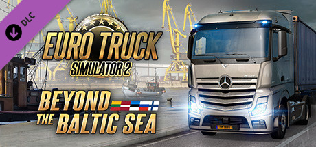 Euro Truck Simulator 2 – Beyond the Baltic Sea [PT-BR] Capa