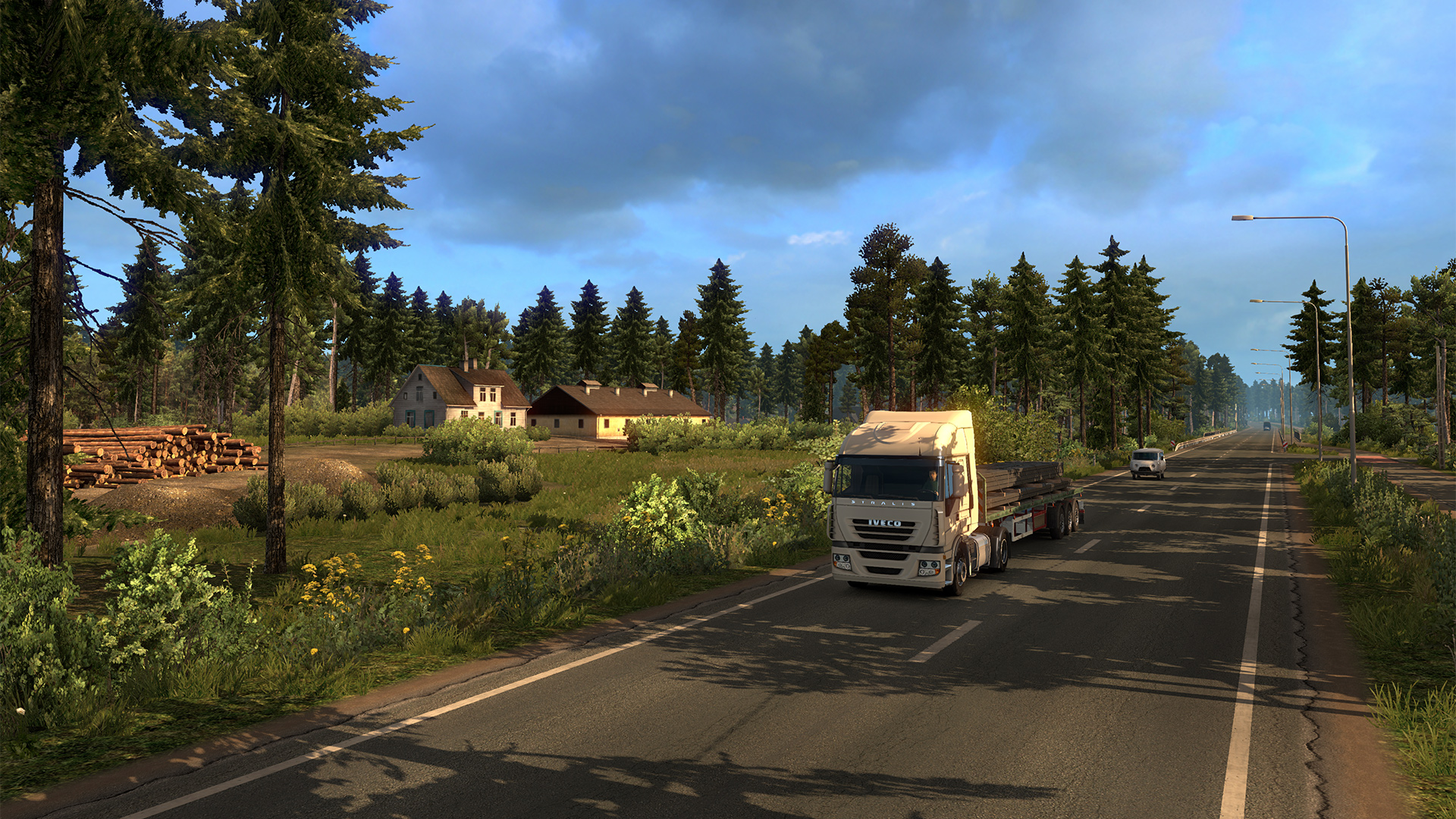 Euro Truck Simulator 2: Beyond the Baltic Sea [2013|Rus|Eng|Multi]