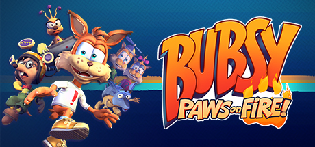 Bubsy Paws on Fire! Capa