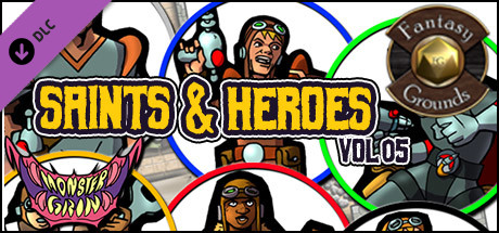 Fantasy Grounds - Saints and Heroes, Volume 5 (Token Pack)