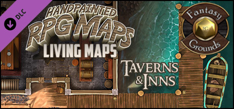 Fantasy Grounds - Taverns & Inns Pack 1 - Living Maps (Map Pack)