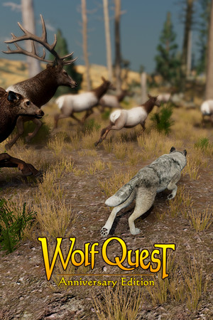 WolfQuest: Anniversary Edition poster image on Steam Backlog