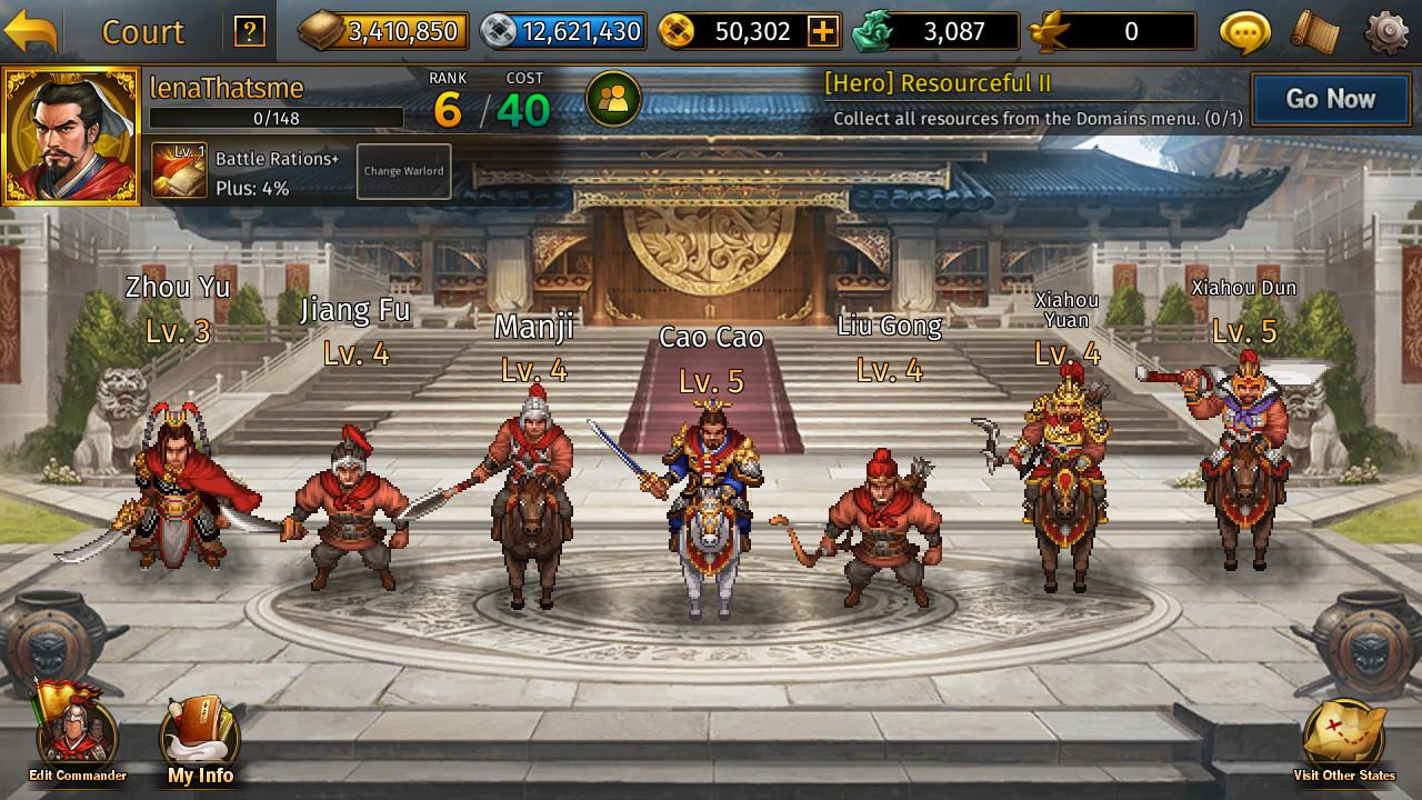 Romance of the Three Kingdoms: Legend of CaoCao(Tactics) on