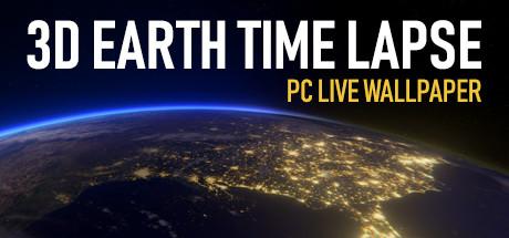 3D Earth Time Lapse PC Live Wallpaper
