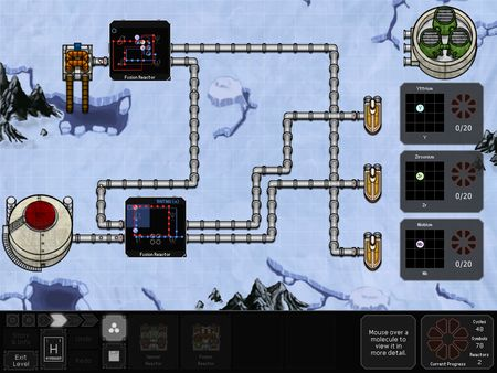 скриншот SpaceChem 1