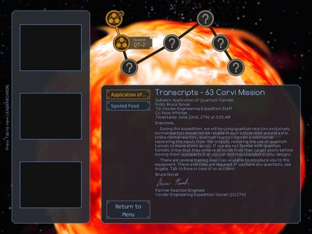 скриншот SpaceChem: 63 Corvi 2