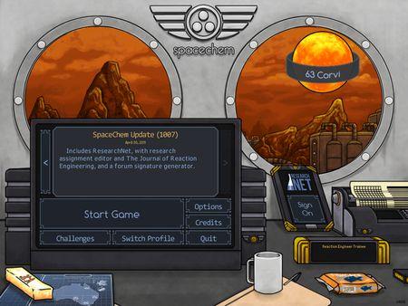 скриншот SpaceChem: 63 Corvi 3