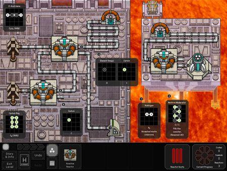 скриншот SpaceChem: 63 Corvi 0