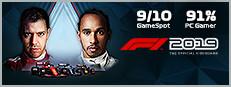 F1 2019 poster image on Steam Backlog