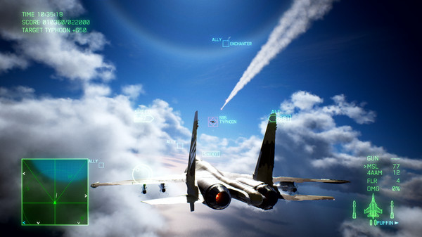 Скриншот №7 к ACE COMBAT™ 7 SKIES UNKNOWN - Unexpected Visitor