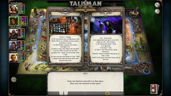 скриншот Talisman - The Cataclysm Expansion 5