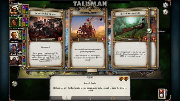 скриншот Talisman - The Cataclysm Expansion 4