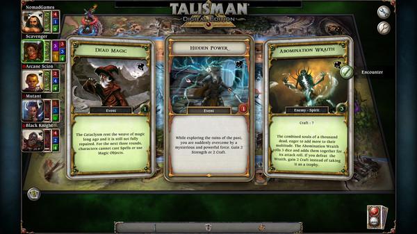 скриншот Talisman - The Cataclysm Expansion 0