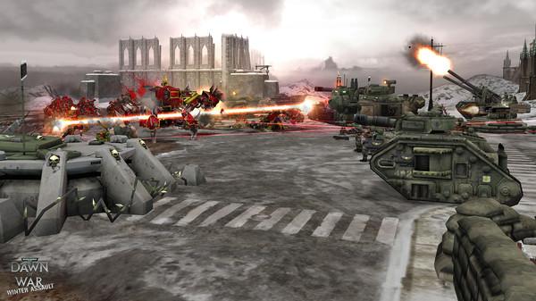 скриншот Warhammer 40,000: Dawn of War - Winter Assault 4