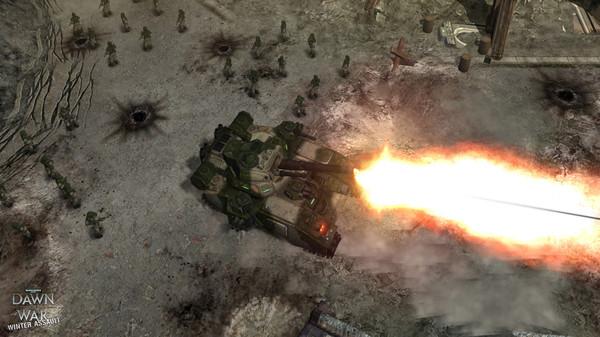 скриншот Warhammer 40,000: Dawn of War - Winter Assault 3