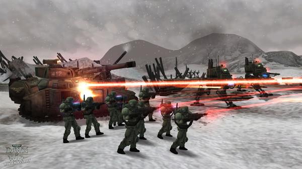 скриншот Warhammer 40,000: Dawn of War - Winter Assault 0
