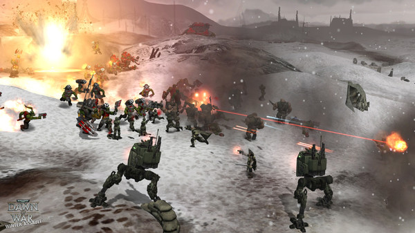 Скриншот из Warhammer 40,000: Dawn of War - Winter Assault