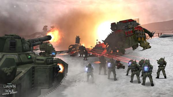 скриншот Warhammer 40,000: Dawn of War - Winter Assault 2