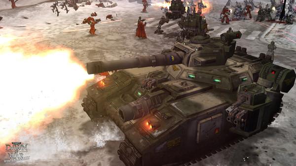 скриншот Warhammer 40,000: Dawn of War - Winter Assault 1