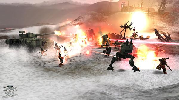 скриншот Warhammer 40,000: Dawn of War - Winter Assault 5
