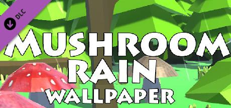 """Mushroom rain"" - wallpaper 1920x1080"