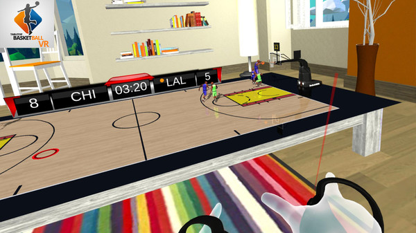 Tabletop Basketball VR