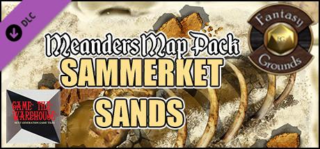 Fantasy Grounds - Meanders Map Pack: Sammerket Sands (Map Pack)