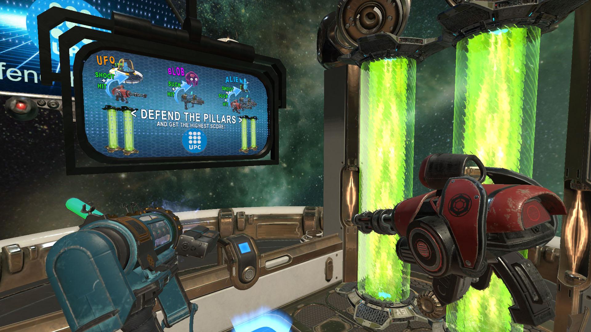 Aliens Attack VR on Steam