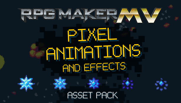 RPG Maker MV - Pixel Animations - Info - IsThereAnyDeal