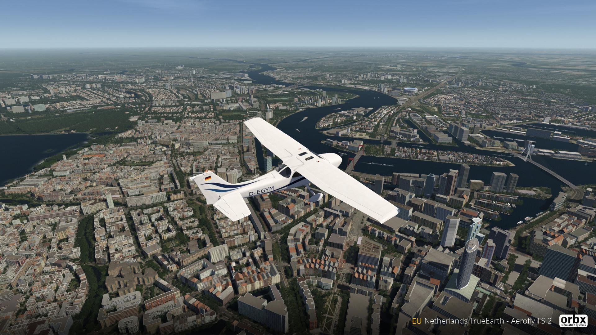 Aerofly FS 2 - Orbx - Netherlands TrueEarth