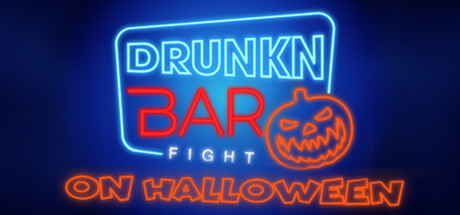 Drunkn Bar Fight on Halloween cover art