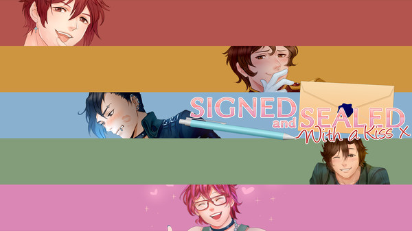 Signed and Sealed With a Kiss - Wallpapers and Icons (DLC)