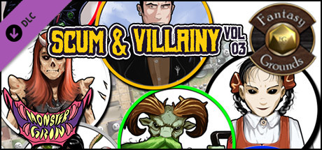 Fantasy Grounds - Scum and Villainy, Volume 3 (Token Pack)