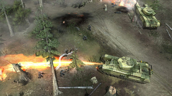 Скриншот из Company of Heroes: Opposing Fronts