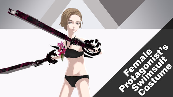 The Caligula Effect: Overdose - Female Protagonist's Swimsuit Costume