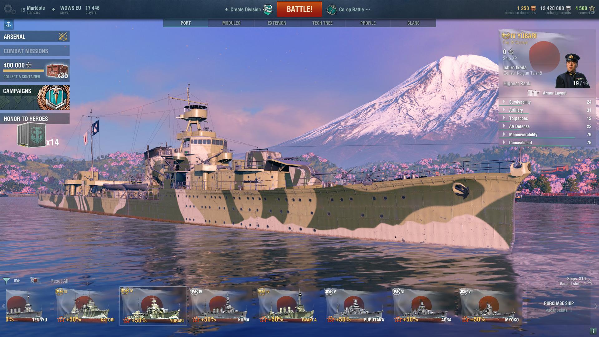 World of Warships: Yubari Steam Edition 2018 pc game Img-2