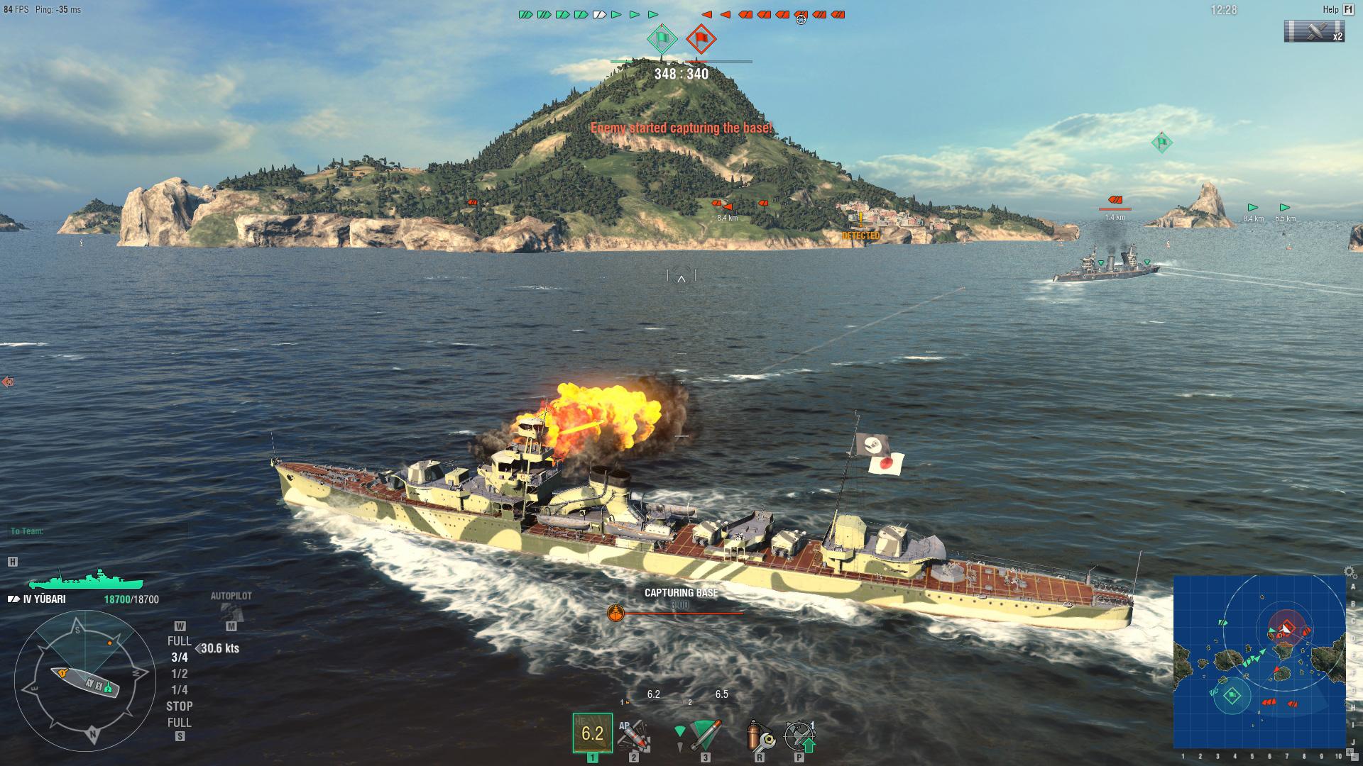 World of Warships: Yubari Steam Edition 2018 pc game Img-3