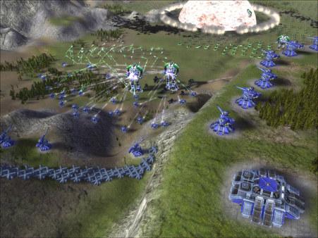 Скриншот из Supreme Commander
