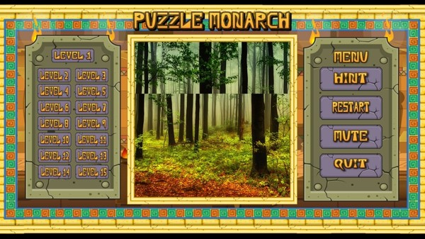 Скриншот из Puzzle Monarch: Forests