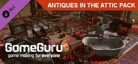 GameGuru - Antiques In The Attic Pack