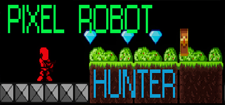 Pixel Robot Hunter cover art