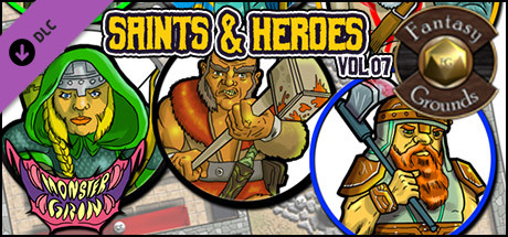 Fantasy Grounds - Saints and Heroes, Volume 7 (Token Pack)