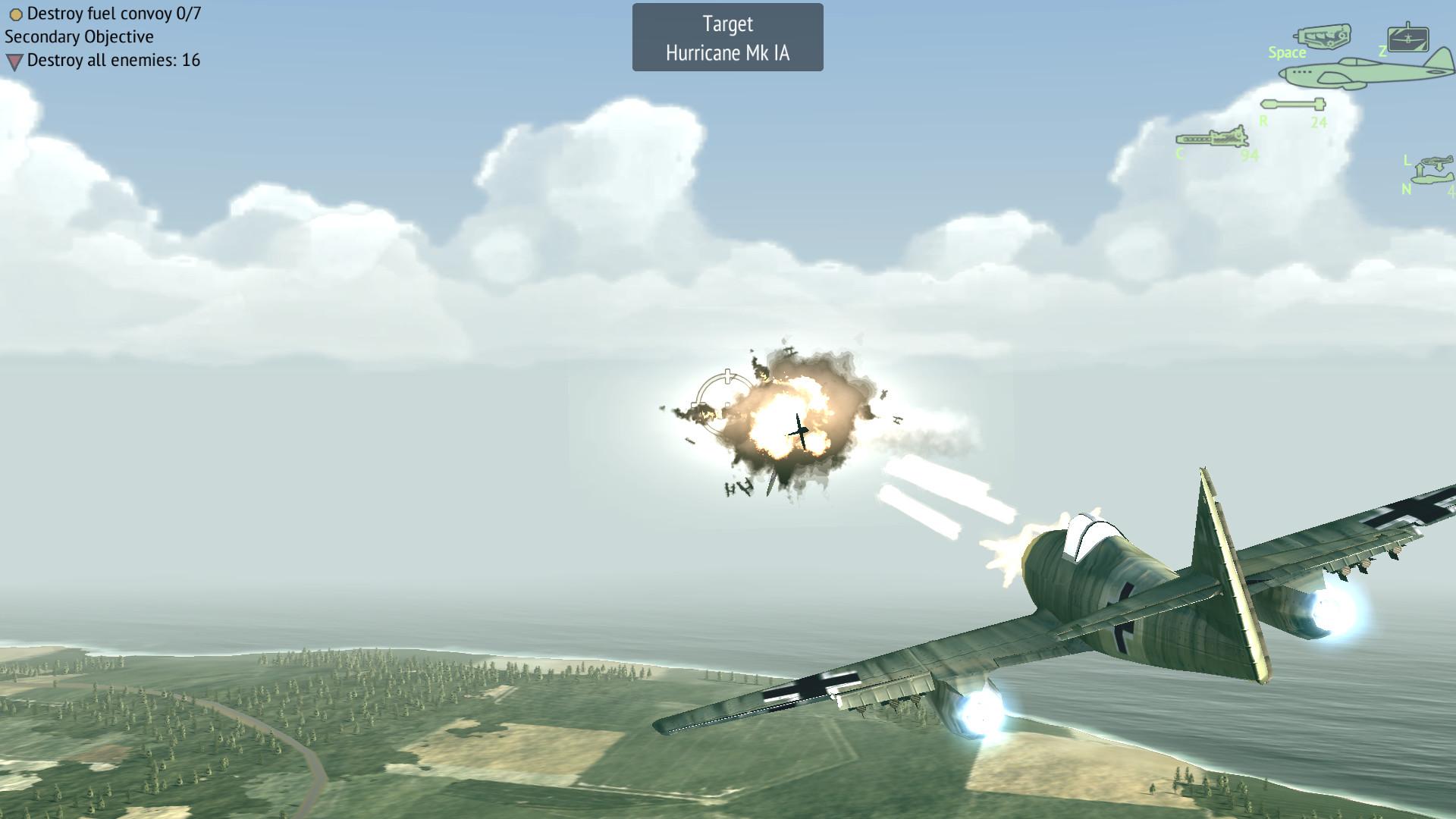 Plane Fighting Games >> Warplanes Ww2 Dogfight On Steam